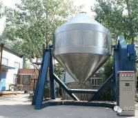 Delivery of 36,000 liters giant double cone mixer