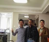 Pharmaceutical Mixer Customer Visit JINHE Factory