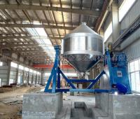 Iron Powder Reduced Mixing Equipment Debugged Successfully