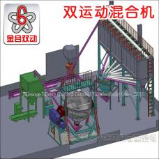 JHL2000 Huge Full Automatic Powder Production Line