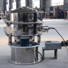 Ultrasonic circular vibrating screen testing sieve