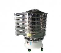 Ultrasonic vibrating sieve machine