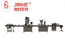 Full automatic bottle filling packing line
