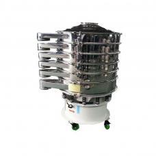 Ultrasonic vibrating sieve machine